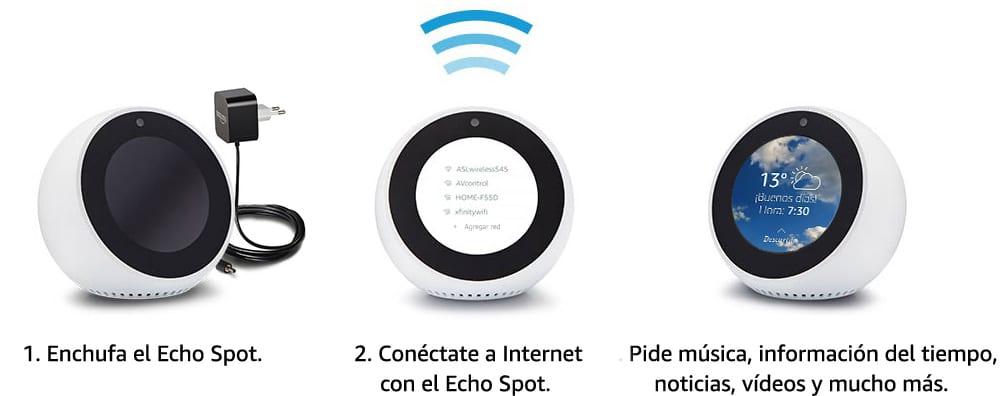 Análisis del Altavoz Inteligente Amazon Echo Spot