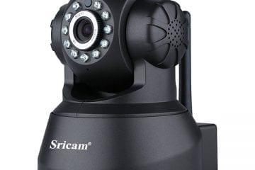 Sricam SP012 720P Revisión de la Cámara IP para Interiores