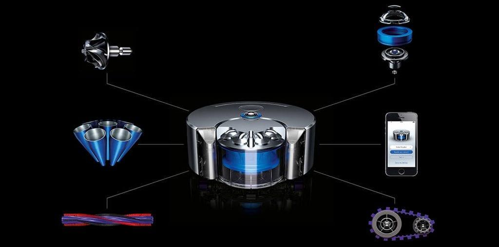 , reseña 2019 Dyson 360 Eye, Aspiradora Inteligente Dyson 360 Eye, características Aspiradora Inteligente Dyson 360 Eye, domotica, store domotica