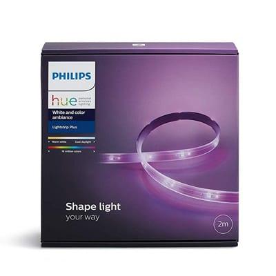 Reseña Philips Hue Lights Trip, Philips Hue Lights Trip, Philips Hue LightsTrip, Tiras de Led Adhesivas de Philips, iluminación domótica, domotica philips, domotica store,  Tira Philips Hue Lights Trip