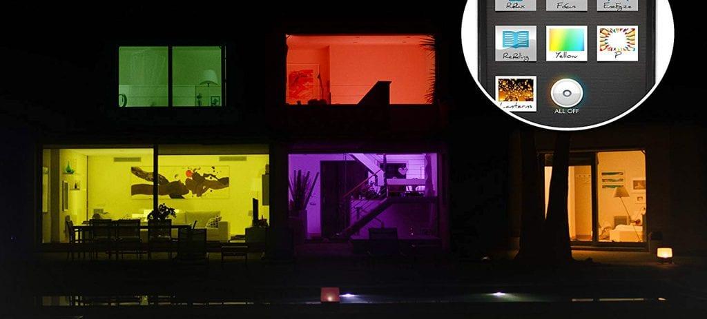 Reseña 2019 de Philips Hue, Qué es Philips Hue, Philips Hue, Philips Hue Lucca, Philips Hue Turaco, Bombillas Philips Hue, Philips Hue Colour Ambiance Starter Kit, Philips Hue Starter Kit, Domotica store, Iluminación inteligente, iluminacion domotica