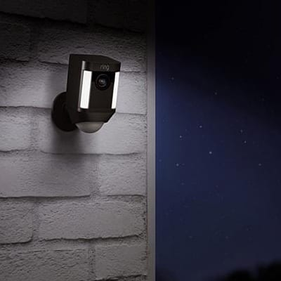 Ring Spotlight Cam, Cámara Domótica de Seguridad, Cámara Domótica Ring Spotlight Cam , Ring Spotlight Cam, Cámara Exterior, Spotlight Cam de Ring
