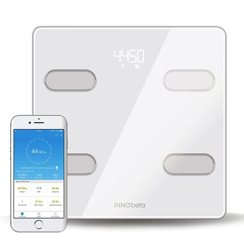 Báscula Digital Inteligente InnoBeta Fitfy, balanza digital, bascula romana, balanza wifi, balanza de baño, balanza grasa corporal