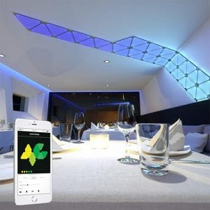luces inteligentes, panel de luces led nanoleaf, la mejor luz inteligente, precio, comprar, review, analisis 2019, nanoleaf, domotica iluminación, domoticas.store