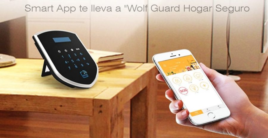 Sistema de Alarma Inteligente Wolf-Guard WM2GR