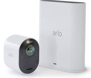 cámara de seguridad arlo ultra 4k, arlo cam, camara ultra 4k, camara 1080, camara uhd, camara esterior hd, camara exterior arlo, domotica store
