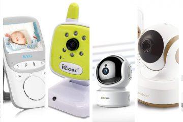 Las 5 Mejores Cámaras de Seguridad para Bebes