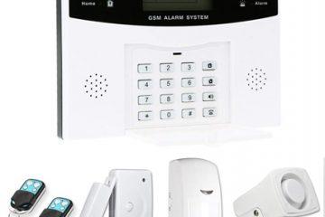 Alarmas Hogar OWSOO 433MHz Sistema de Alarma GSM SMS