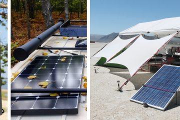Los Mejores Paneles Solares para Acampar en el 2021 (Revisión)