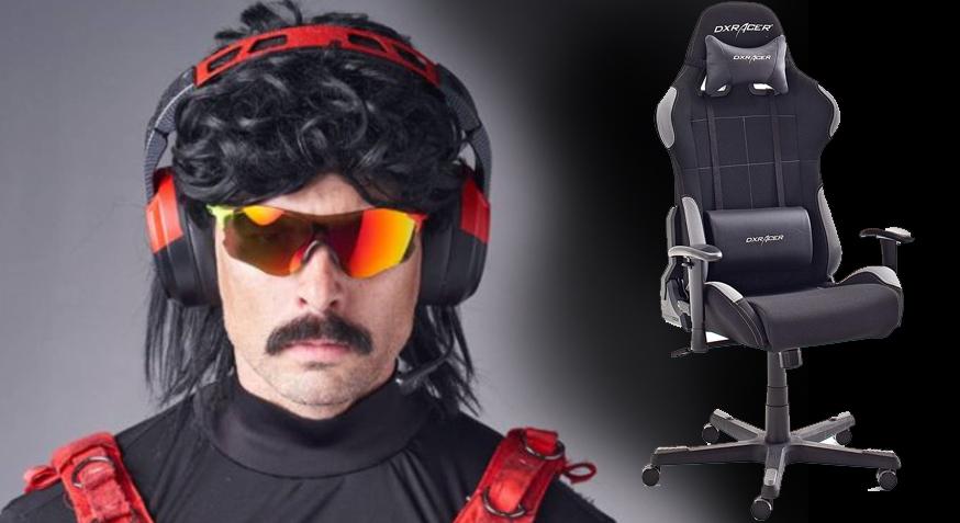 sillas de oficina comodas, mejores sillas gamer, Silla gamer Dr. Disrespect, silla de oficina gamer, silla gamer, silla gamer barata, silla gamer good game,