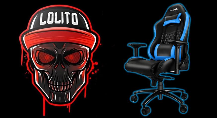 sillas de oficina comodas, mejores sillas gamer, Silla gamer LolitoFdez, silla de oficina gamer, silla gamer, silla gamer barata, silla gamer good game,