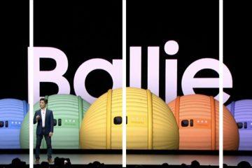 Conoce el Nuevo Robot Samsung Ballie El mini BB-8 de la vida real