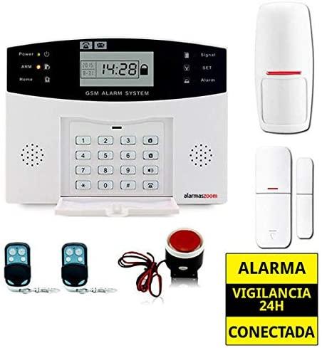 🥇 Sistema de Seguridad AZ028 Alarmas Zoom