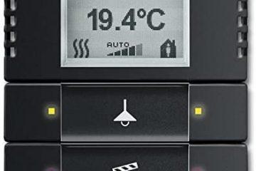 Termostato ambiental para domótica KNX Busch-Jaeger