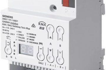 Interfaz domótica KNX Iluminación Siemens