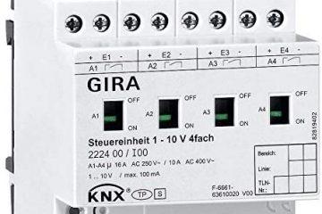 Control iluminación para Domótica KNX GIRA