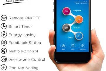 Smart Switch para Domótica KNX Docooler
