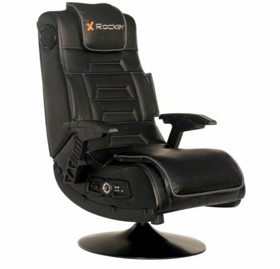 sillón para Videojuegos X-Rocker 51396 Pro Serie Pedestal de alta gama